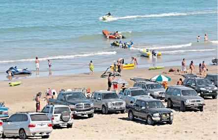 de Pinamar, pero se trata de las playas del sur de Mar del Plata